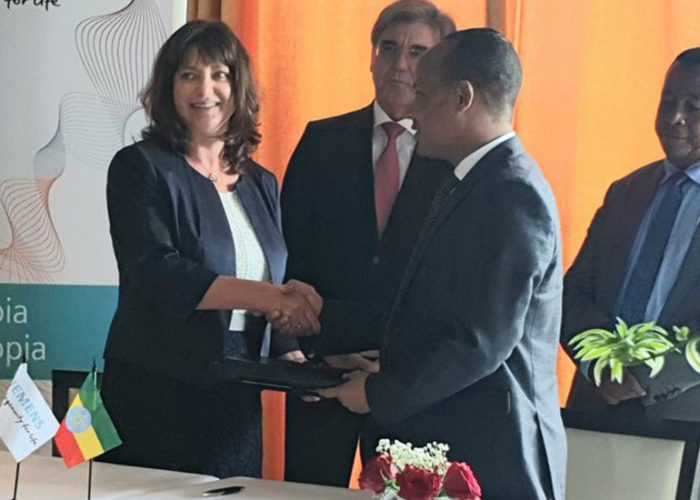 Siemens signs long-term deal to boost Ethiopia's energy infrastructure