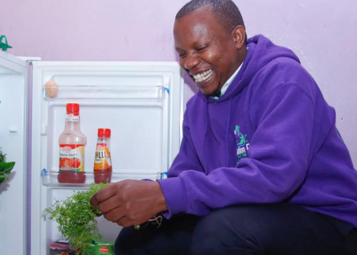 The solar fridge helping African entrepreneurs living off the grid