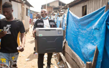 How solar tech could help distribute Covid-19 vaccines in Africa
